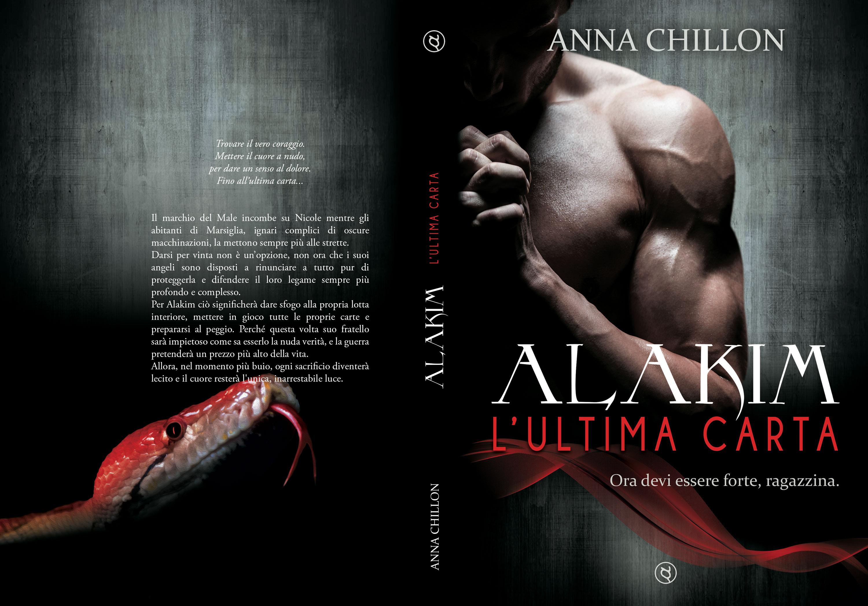 Alakim. L&Quote;Ultima Carta - La cover completa fronte-retro